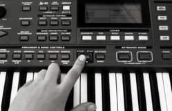 синтезатор Стоковое Фото