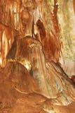 Синтеры в мраморе пещеры Стоковое фото RF