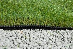 Синтетическая трава Стоковая Фотография RF