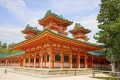 Синтоистская святыня Shimogamo, Киото, Япония Стоковая Фотография