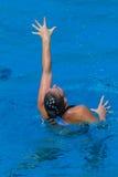 Синхронизированное представление рук девушки Стоковое Изображение RF