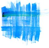 Синь абстракции Стоковые Изображения