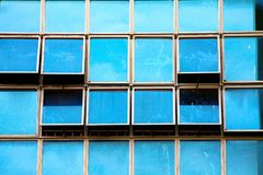 Синь а это нет неба Стоковая Фотография