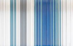 Синь, белизна и серый цвет покрасили деревянную текстуру предпосылки Стоковая Фотография