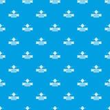 Синь вектора картины красоты женское бельё безшовная Стоковое Изображение