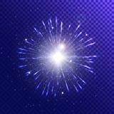 Синь вектора этапа Стоковые Изображения RF