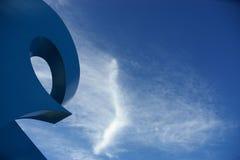 синь дуги Стоковые Изображения