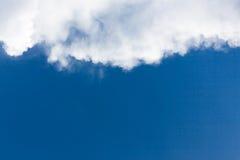 синь заволакивает небо стоковые фотографии rf