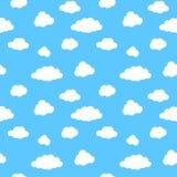 синь заволакивает белизна неба иллюстрация штока