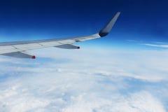 синь заволакивает небо Стоковая Фотография