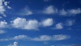 синь заволакивает солнце неба Стоковая Фотография