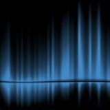 синь задрапировывает иллюстрация вектора