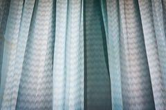 синь задрапировывает стоковое фото rf
