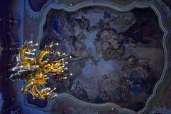 Синь и золото Стоковая Фотография RF