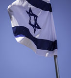 Синь и флаг парламентера Стоковое фото RF