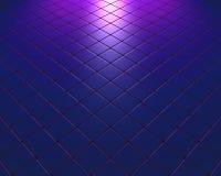 Синь и mauve мозаика исчезать с влиянием цвета Стоковые Фото