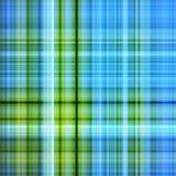 синь красит зеленую картину Стоковая Фотография