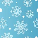 Синь младенца картины зимы снега безшовная Стоковое Изображение