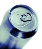 синь может тонизированная сода Стоковая Фотография