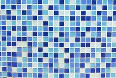 Синь мозаики как красивый Стоковое Изображение RF