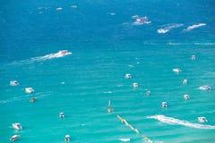 Синь моря Стоковое Фото