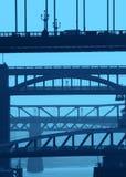 синь наводит newcastle Стоковые Изображения RF