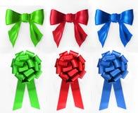 синь обхватывает зеленый красный цвет Стоковые Фотографии RF
