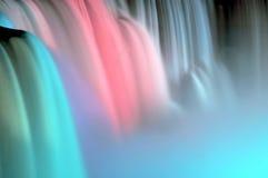 синь падает пинк niagara Стоковое фото RF