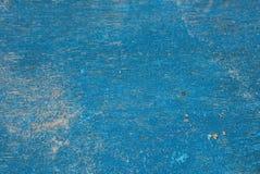 Синь покрасила старую деревянную шлюпочную палуба, остров Boracay, Филиппины Стоковое Изображение RF