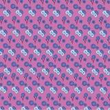 синь предпосылки цветет вектор иллюстрации иллюстрация штока