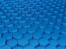 синь предпосылки 3d Стоковое фото RF