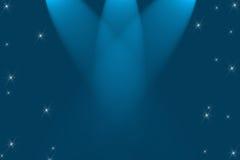 синь предпосылки Стоковая Фотография