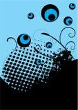 синь предпосылки Стоковые Фотографии RF