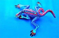 синь предпосылки alebrije Стоковые Изображения