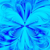 синь предпосылки aqua Стоковая Фотография RF