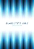 синь предпосылки striped Стоковая Фотография RF