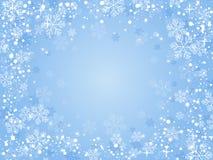 Синь предпосылки рождества Стоковые Фото