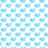 Синь предпосылки сердец Стоковые Изображения