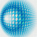 Синь предпосылки  Иллюстрация вектора