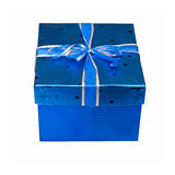 синь присутствующая Стоковые Фотографии RF