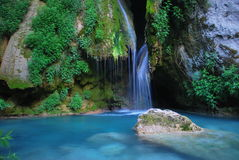 Синь реки Стоковые Изображения