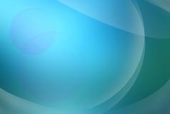 Синь с зеленой абстрактной предпосылкой Стоковые Фото