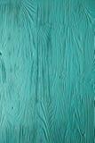 Синь увяла покрашенные деревянные текстура, предпосылка и обои Стоковая Фотография RF