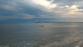 Синь, Чёрное море Стоковые Изображения
