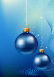 синь шарика предпосылки Стоковое Изображение RF