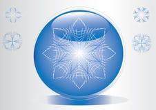 синь шарика Стоковые Фото