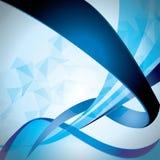 Синь Abstrac Стоковые Фото