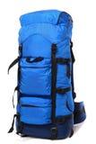 синь backpack Стоковые Изображения
