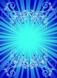 синь backround Стоковая Фотография