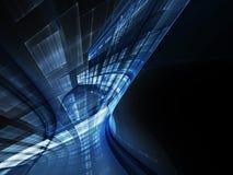 Синяя абстрактная предпосылка Стоковое Фото